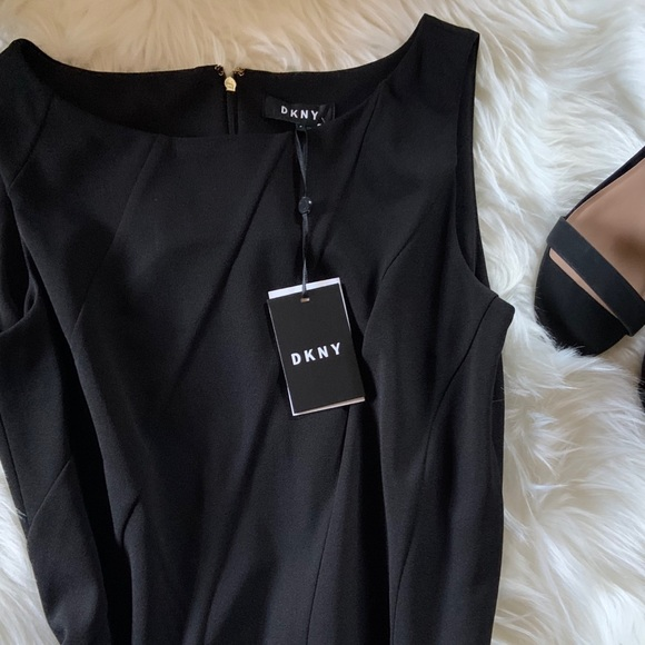 Dkny Dresses & Skirts - NEW DKNY Black dress size 8